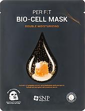 Парфюмерия и Козметика Биоцелулозна маска за лице с екстракт от прополис - SNP Double Moisturizing Bio-Cell Mask