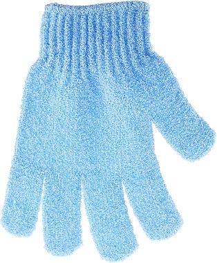Ръкавица за баня, синя - Top Choice