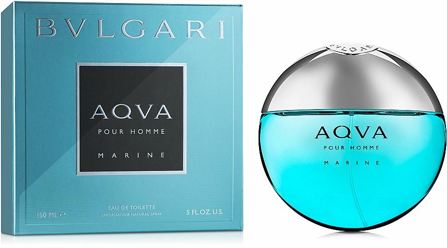 Bvlgari Aqva Pour Homme Marine - Тоалетна вода — снимка N2