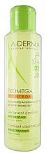 Парфюмерия и Козметика Омекотяващ измиващ гел за лице - Aderma Exomega Control Emollient Cleansing Gel Anti-Scratching