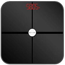 Парфюмерия и Козметика Електронен смарт кантар VO4011, черен - Concept Body Composition Smart Scale