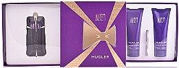 Парфюми, Парфюмерия, козметика Thierry Mugler Alien - Комплект (парф. вода/60ml + лосион за тяло/100ml + душ мляко/100ml)
