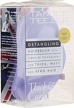 Парфюмерия и Козметика Четка за гъста и къдрава коса, лилава - Tangle Teezer Detangling Thick & Curly Lilac Fondant