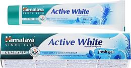 Парфюмерия и Козметика Паста за зъби - Himalaya Herbals Active White Fresh Gel