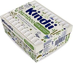 Парфюмерия и Козметика Клечки за уши за бебе и дете - Kindii Bamboo Cotton Buds