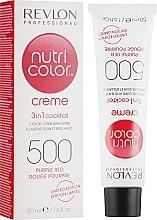 Парфюмерия и Козметика Тониращ Балсам 3 в 1 - Revlon Professional Nutri Color 3 in 1 Creme Limited Edition