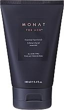 Парфюмерия и Козметика Скраб за лице с микрочастици - Monat For Men Essential Face Scrub