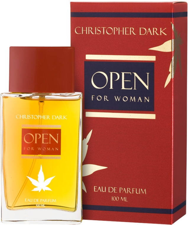 Christopher Dark Open - Парфюмна вода