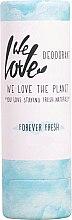 Парфюмерия и Козметика Хидратиращ дезодорант стик - We Love The Planet Forever Fresh Deodorant Stick