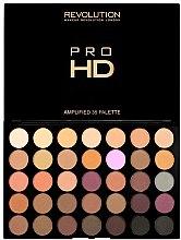 Парфюми, Парфюмерия, козметика Палитра сенки за очи - Makeup Revolution Pro HD Palette Amplified 35