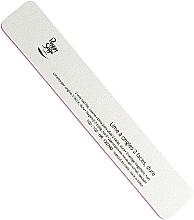 Парфюмерия и Козметика Двустранна пила за нокти 100/100, бяла - Peggy Sage 2-way Rectangular Washable Nail File