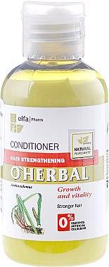 "Укрепващ балсам за коса ""Растеж и сила"" - O'Herbal"