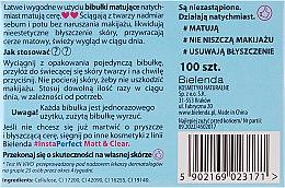 Матиращи кърпички за лице - Bielenda #Insta Perfect Matt&Clear — снимка N2