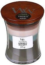 Ароматна свещ в чаша - WoodWick Hourglass Trilogy Candle Ocean Breeze — снимка N2
