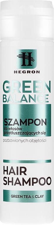 Шампоан за мазна коса - Hegron Green Balance Hair Shampoo
