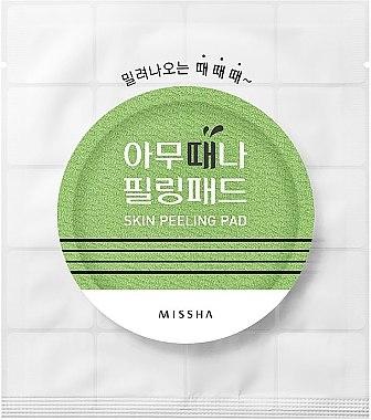 Пилинг-тампоани за лице - Missha Skin Peeling Pad — снимка N1