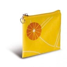 """Парфюми, Парфюмерия, козметика Козметична чанта с принт в жълто """"Портокал"""" - Donegal Cosmetic Bag"""
