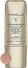 Парфюмерия и Козметика Матиращ крем за лице SPF50 - Yonelle Metamorphosis Hydroactive CCC Cream SPF50