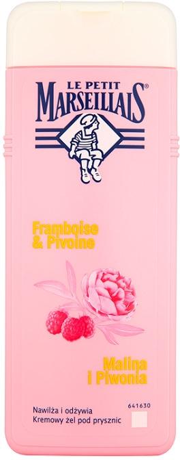 """Душ гел """"Малина и божур"""" - Le Petit Marseillais"""