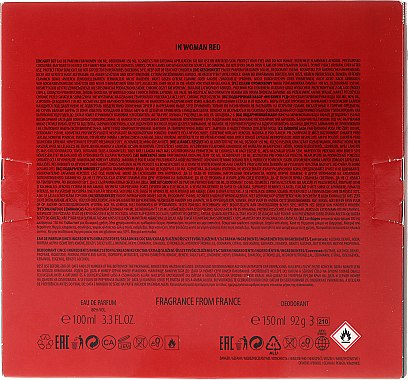 La Rive In Woman Red - Комплект (парф. вода/100ml + део/150ml) — снимка N2