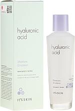 Парфюмерия и Козметика Овлажняваща емулсия за лице с хиалуронова киселина - It's Skin Hyaluronic Acid Moisture Emulsion