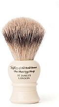 Парфюмерия и Козметика Четка за бръснене, S2233 - Taylor of Old Bond Street Shaving Brush Super Badger size S