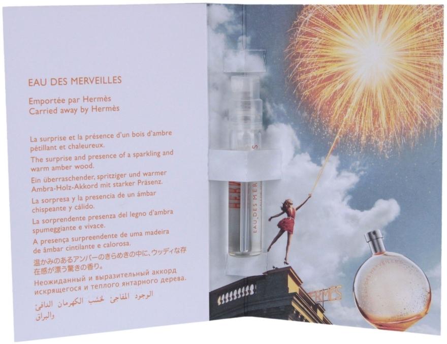 Hermes Eau des Merveilles - Тоалетна вода (мостра) — снимка N2