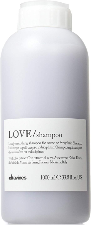Шампоан за изглаждане на къдрици - Davines Shampoo Lisciante Addolcente — снимка N1