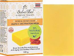 Парфюмерия и Козметика Сапун с екстракт от мед - Sabai Thai Herbal Honey Soap