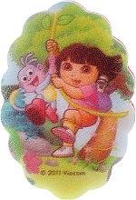 """Парфюмерия и Козметика Детска гъба за баня """"Дора"""", 169-6 - Suavipiel Dora Bath Sponge"""