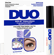 Парфюмерия и Козметика Лепило за изкуствени мигли, прозрачно - Ardell Duo Quick Set