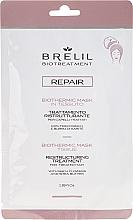 Парфюмерия и Козметика Възстановяваща маска-шапка за коса - Brelil Bio Treatment Repair Mask Tissue