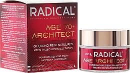 Парфюми, Парфюмерия, козметика Нощен крем за лице против бръчки 70+ - Farmona Radical Age Architect Cream 70+
