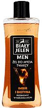 Парфюми, Парфюмерия, козметика Имиващ гел за лице с джинджифил и биотин - Bialy Jelen Cleansing Gel
