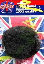 Парфюми, Парфюмерия, козметика Гъба за кок, черна - Ronney Professional Bun Maker