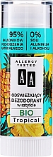Парфюмерия и Козметика Освежаващ стик дезодорант - AA Bio Tropical Deodorant Stick