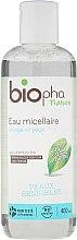 Парфюми, Парфюмерия, козметика Мицеларна вода за чувствителна кожа - Biopha Organic Micellar Water Face & Eyes