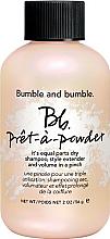 Парфюмерия и Козметика Сух шампоан-пудра за нормална и мазна коса - Bumble and Bumble Pret-A-Powder Dry Shampoo