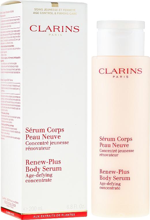 Регенериращ серум за тяло - Clarins Renew-Plus Body Serum — снимка N1