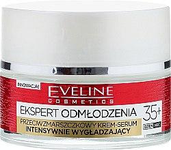 Подмладяващ крем за лице 35+ - Eveline Cosmetics Ekspert Expert Rejuvenation Cream Serum — снимка N2