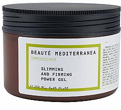 Парфюми, Парфюмерия, козметика Антицелулитен стягащ крем за тяло - Beaute Mediterranea Slimming And Firming Power Gel