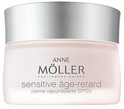 Парфюми, Парфюмерия, козметика Нощен крем за лице - Anne Moller Sensitive Age-Retard Cream