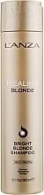 Парфюмерия и Козметика Лечебен шампоан за естествено руса и изсветлена коса - L'anza Healing Blonde Bright Blonde Shampoo