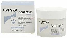 Парфюмерия и Козметика Нощен крем за лице - Noreva Aquareva Intensive Moisturizing Night Care