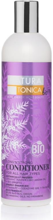 """Балсам за всеки тип коса """"Дължина и сила"""" - Natura Estonica Long'n'Strong Conditioner"""