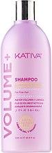 Парфюми, Парфюмерия, козметика Почистващ шампоан за обемна коса - Kativa Volume + Shampoo