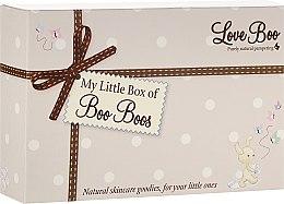 Парфюми, Парфюмерия, козметика Комплект - Love Boo My Little Box Of Boo Boos (b/lot/50ml + sh/gel/shm/50ml + b/oil/10g + bath/f/50ml)