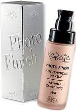 Парфюмерия и Козметика Фон дьо тен - Karaja Photo Finish Pore Minimizing Make-Up Foundation