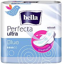 Парфюмерия и Козметика Дамски превръзки Perfecta Blue Soft Ultra, 10 бр - Bella