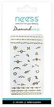 Парфюмерия и Козметика Лепенки за нокти, 3712 - Neess Diamondneess